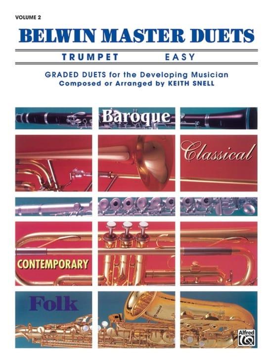 Belwin Master Duets, Easy Volume 2 - Partition - laflutedepan.com