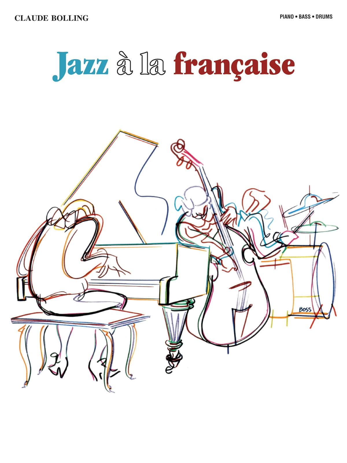 Claude Bolling - Jazz francese - Partition - di-arezzo.it