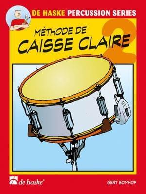 Méthode de Caisse Claire Volume 2 - Gert Bomhof - laflutedepan.com