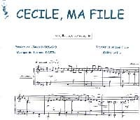 Claude Nougaro - Cecile, My Girl - Partition - di-arezzo.co.uk