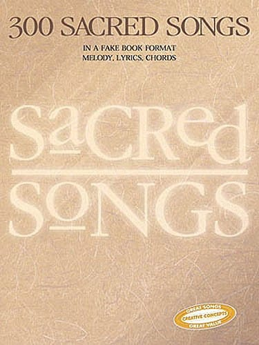 - 300 Sacred Songs - Partition - di-arezzo.co.uk