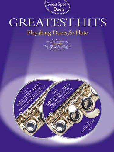Guest Spot - Greatest Hits Playalong Duets For Flute - laflutedepan.com
