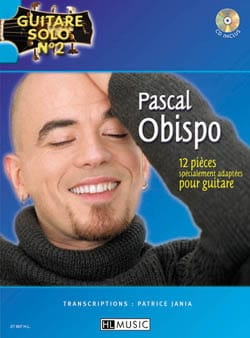 Pascal Obispo - Solo Guitar N ° 2 - 12 Pieces Specially Adapted For Guitar - Partition - di-arezzo.co.uk