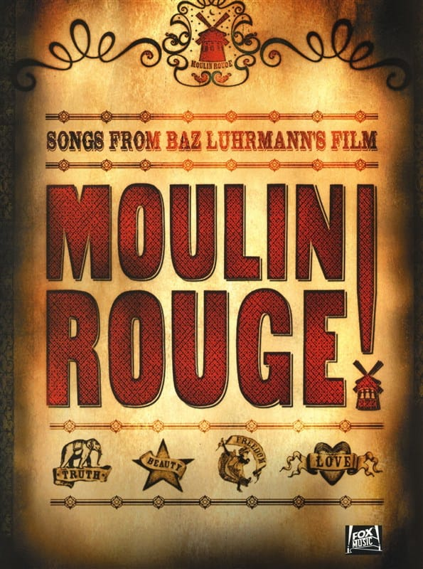 - Moulin Rouge - le Film - Partition - di-arezzo.fr