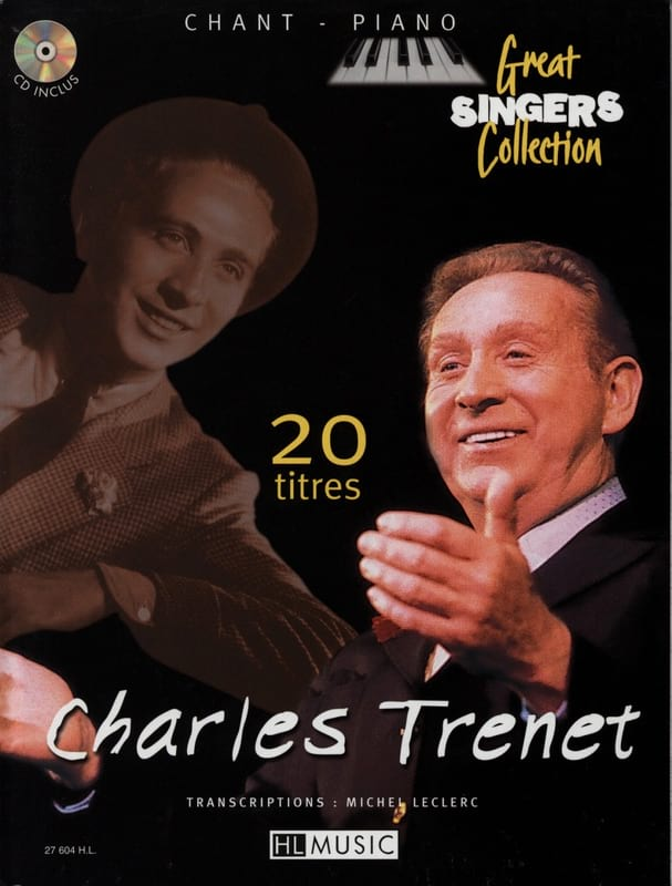 Charles Trenet - 20 Songs Song Piano - Partition - di-arezzo.co.uk