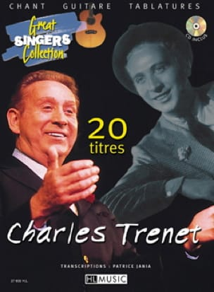 Charles Trenet - 20 Guitar Songs - Partition - di-arezzo.co.uk
