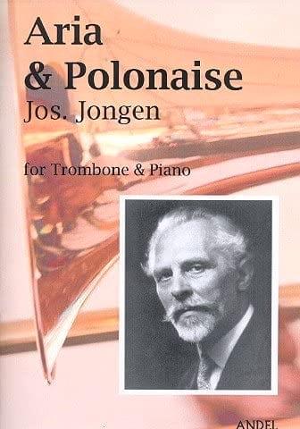 Aria et polonaise - Joseph Jongen - Partition - laflutedepan.com