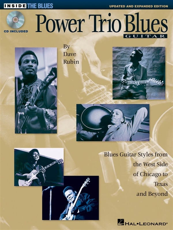 Power Trio Blues Guitar - Dave Rubin - Partition - laflutedepan.com