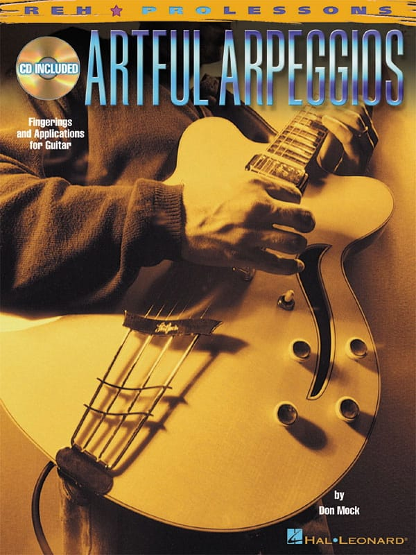 Artful Arpeggios - Don Mock - Partition - Guitare - laflutedepan.com