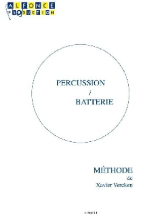 Xavier Vercken - Percussion / Drums - Partition - di-arezzo.co.uk