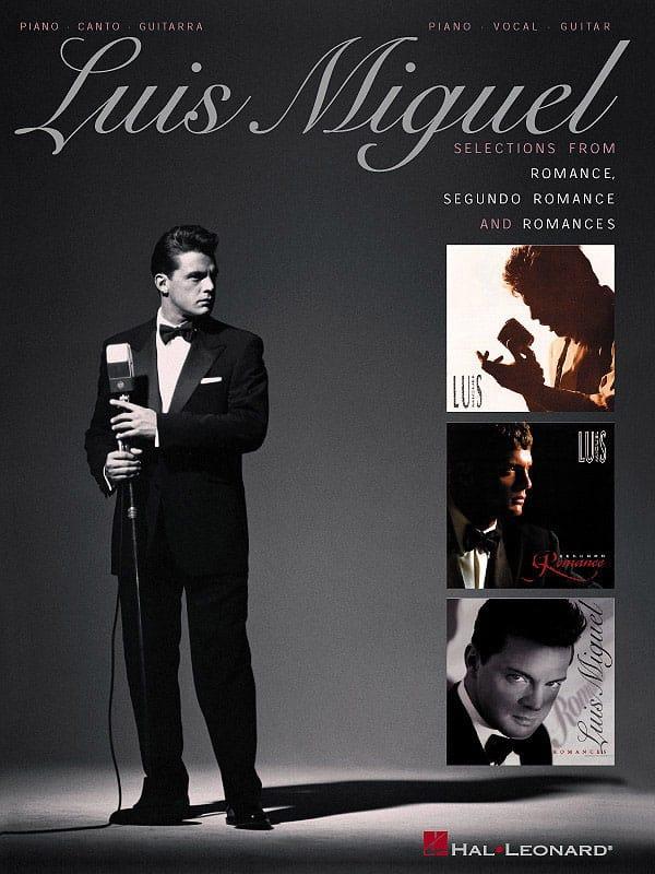 Luis Miguel - Selections from Romance, Segundo Romance, Romances - Partition - di-arezzo.co.uk