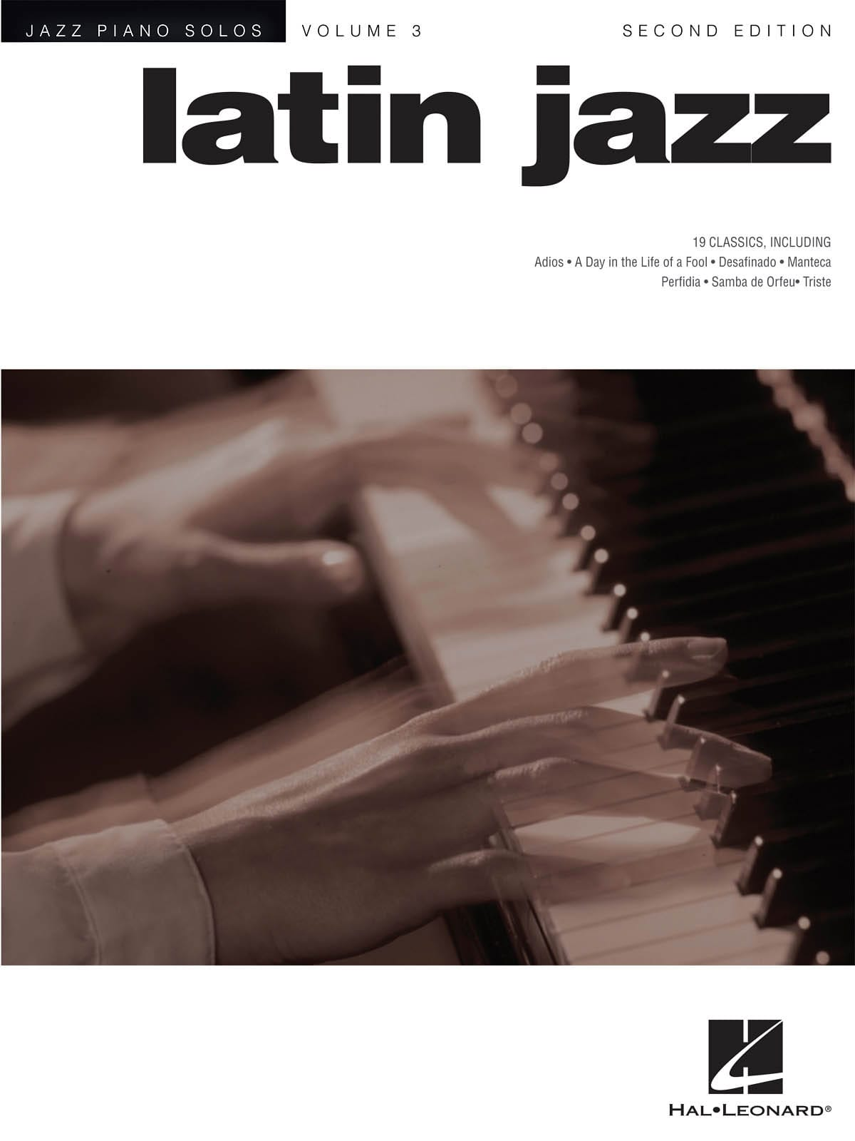 Jazz piano solos volume 3 - Latin Jazz - laflutedepan.com