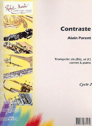Alain Parent - Contrast - Partition - di-arezzo.co.uk