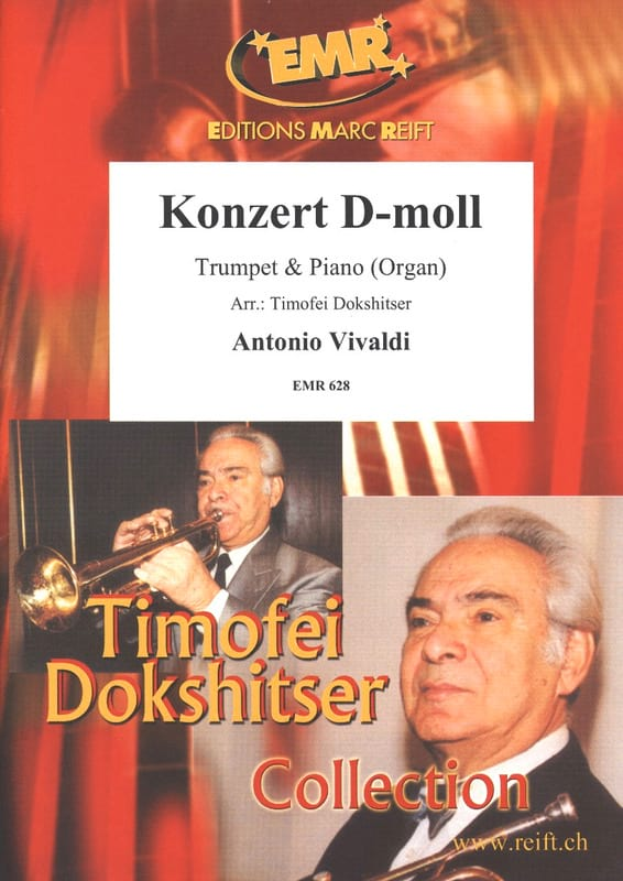 VIVALDI - Concerto en Ré mineur - Partition - di-arezzo.fr
