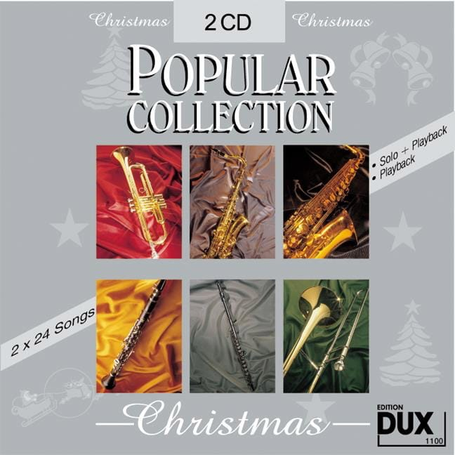 CD Popular collection christmas - Partition - laflutedepan.com