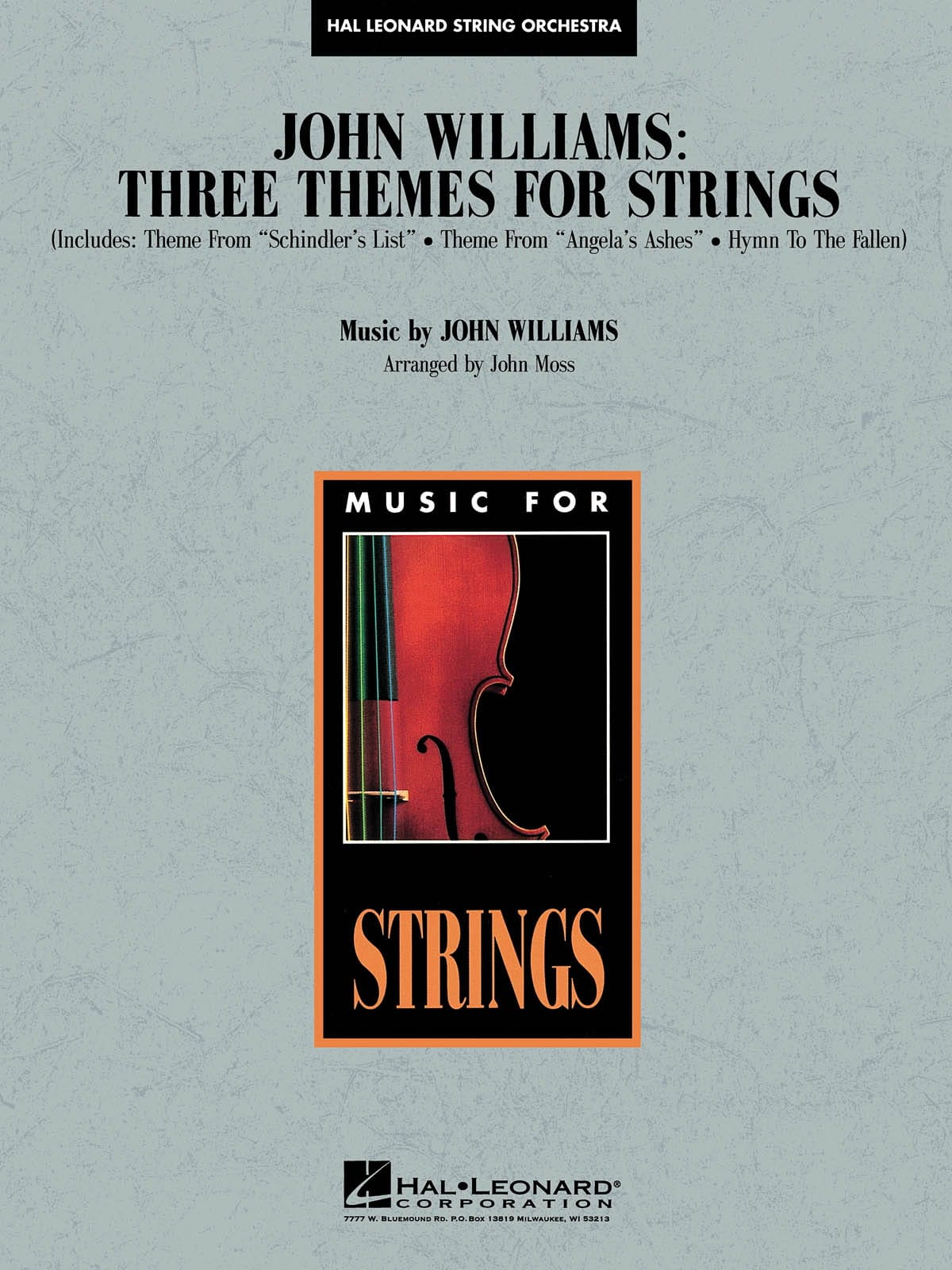 John Williams - Three themes for strings - Pop Specials for Strings - Partition - di-arezzo.co.uk