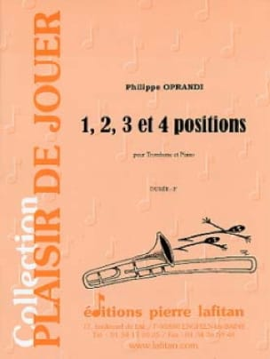 Philippe Oprandi - 1, 2, 3 And 4 Positions - Partition - di-arezzo.com