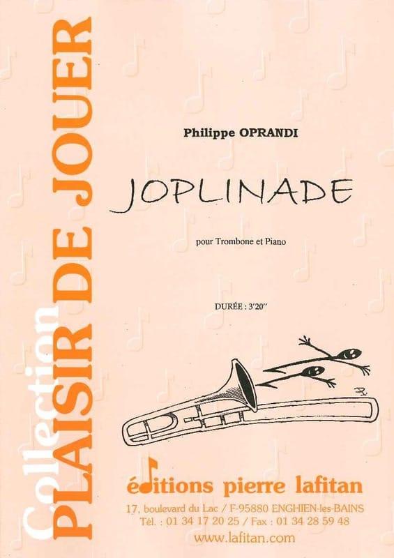 Philippe Oprandi - Joplinade - Partition - di-arezzo.com