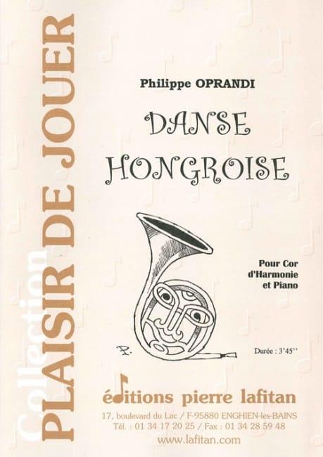 Philippe Oprandi - Hungarian dance - Partition - di-arezzo.com