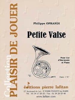 Philippe Oprandi - Little waltz - Partition - di-arezzo.com