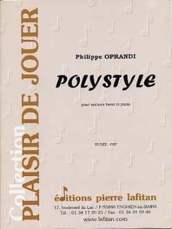 Polystyle - Philippe Oprandi - Partition - Tuba - laflutedepan.com