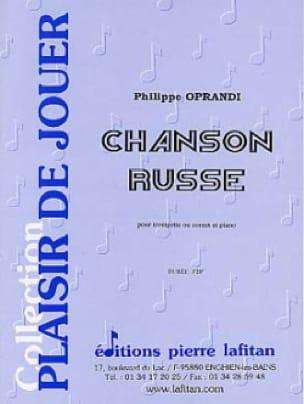 Philippe Oprandi - Russian Song - Partition - di-arezzo.com