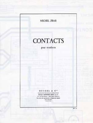Contacts - Michel Zbar - Partition - Trombone - laflutedepan.com