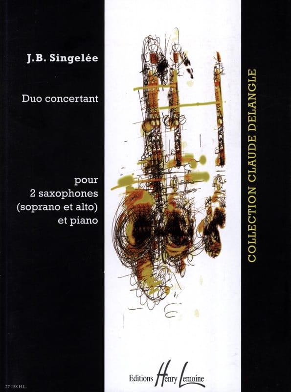 Jean-Baptiste Singelée - Dúo de conciertos - Partition - di-arezzo.es