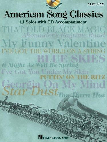 American Song Classics - Partition - Saxophone - laflutedepan.com