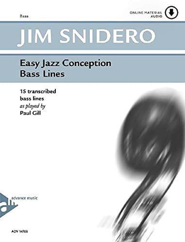 Easy Jazz Conception - Bass Lines - Jim Snidero - laflutedepan.com