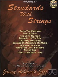 METHODE AEBERSOLD - Volume 97 - Standards With Strings - Partition - di-arezzo.co.uk