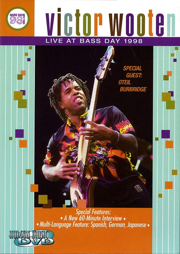 Victor Wooten - DVD - Live At Bass Day 1998 - Accessoire - di-arezzo.co.uk