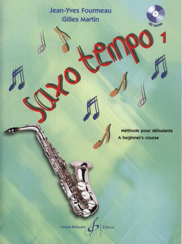 - Saxo Tempo Volume 1 - Partition - di-arezzo.co.uk
