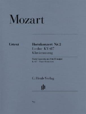 Hornkonzert Nr. 2 In Eb Major KV 417 - MOZART - laflutedepan.com