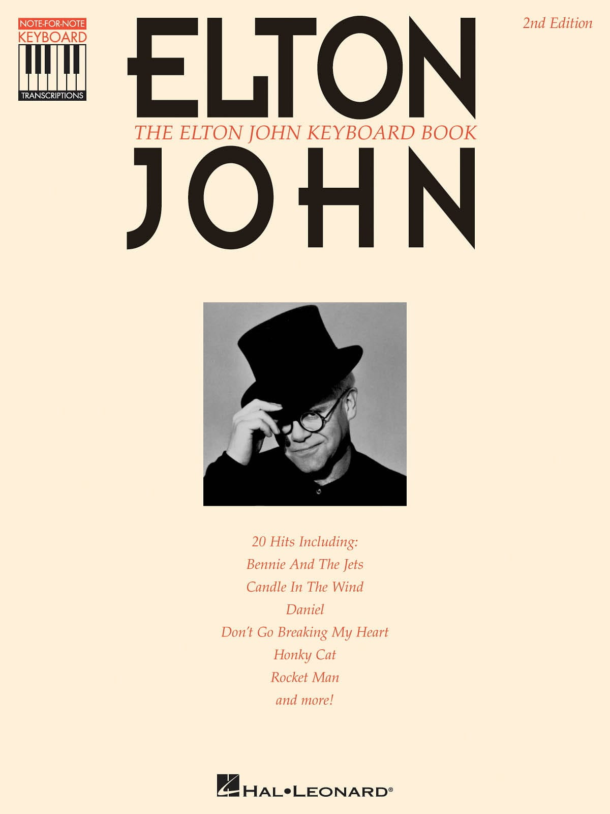 Elton John - The Elton John keyboard book recorded version - Partition - di-arezzo.com