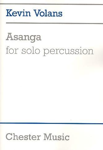 Asanga - Kevin Volans - Partition - laflutedepan.com