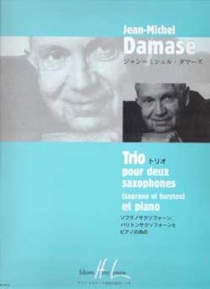Jean-Michel Damase - Trio - Partition - di-arezzo.com