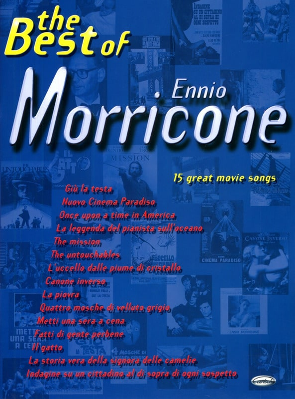 Ennio Morricone - The Best Of Ennio Morricone - Partition - di-arezzo.co.uk