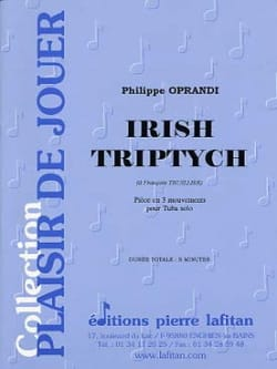 Philippe Oprandi - Irish Triptych - Partition - di-arezzo.com