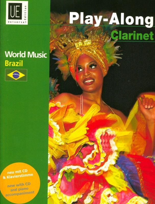 World Music Brazil Play-Along Clarinet - laflutedepan.com