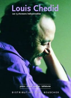 Louis Chedid - The 15 Essential Songs - Partition - di-arezzo.co.uk