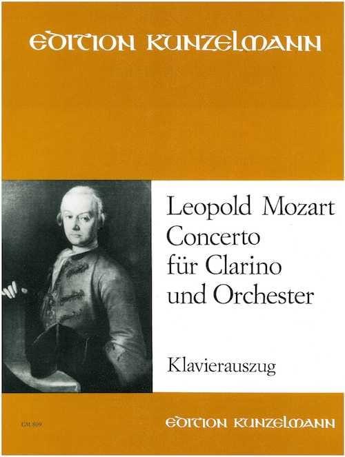 Leopold Mozart - Concerto Für Clarino Und Orchester - Partition - di-arezzo.com