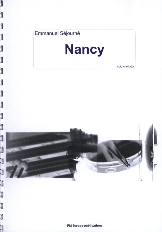 Emmanuel Séjourné - Nancy - Partition - di-arezzo.fr