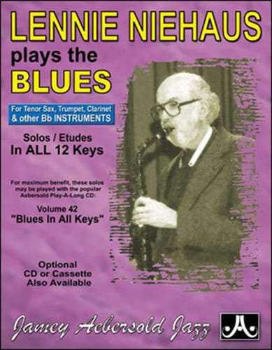 Plays The Blues Saxo Bb - METHODE AEBERSOLD - laflutedepan.com
