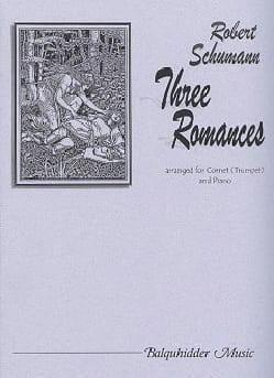 Three Romances - SCHUMANN - Partition - Trompette - laflutedepan.com