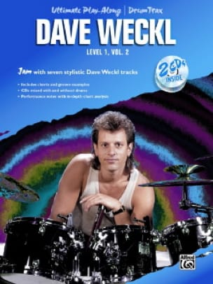 Dave Weckl - Ultimate Play-Along / Drum Trax Level 1 Volume 2 - Partition - di-arezzo.co.uk