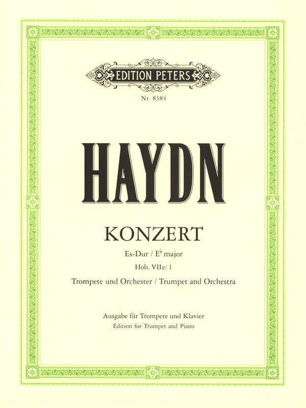 Konzert Es-Dur - HAYDN - Partition - Trompette - laflutedepan.com