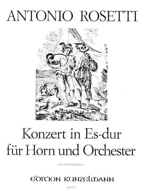 Francesco Antonio Rosetti - Konzert In Es-Dur - Partition - di-arezzo.com