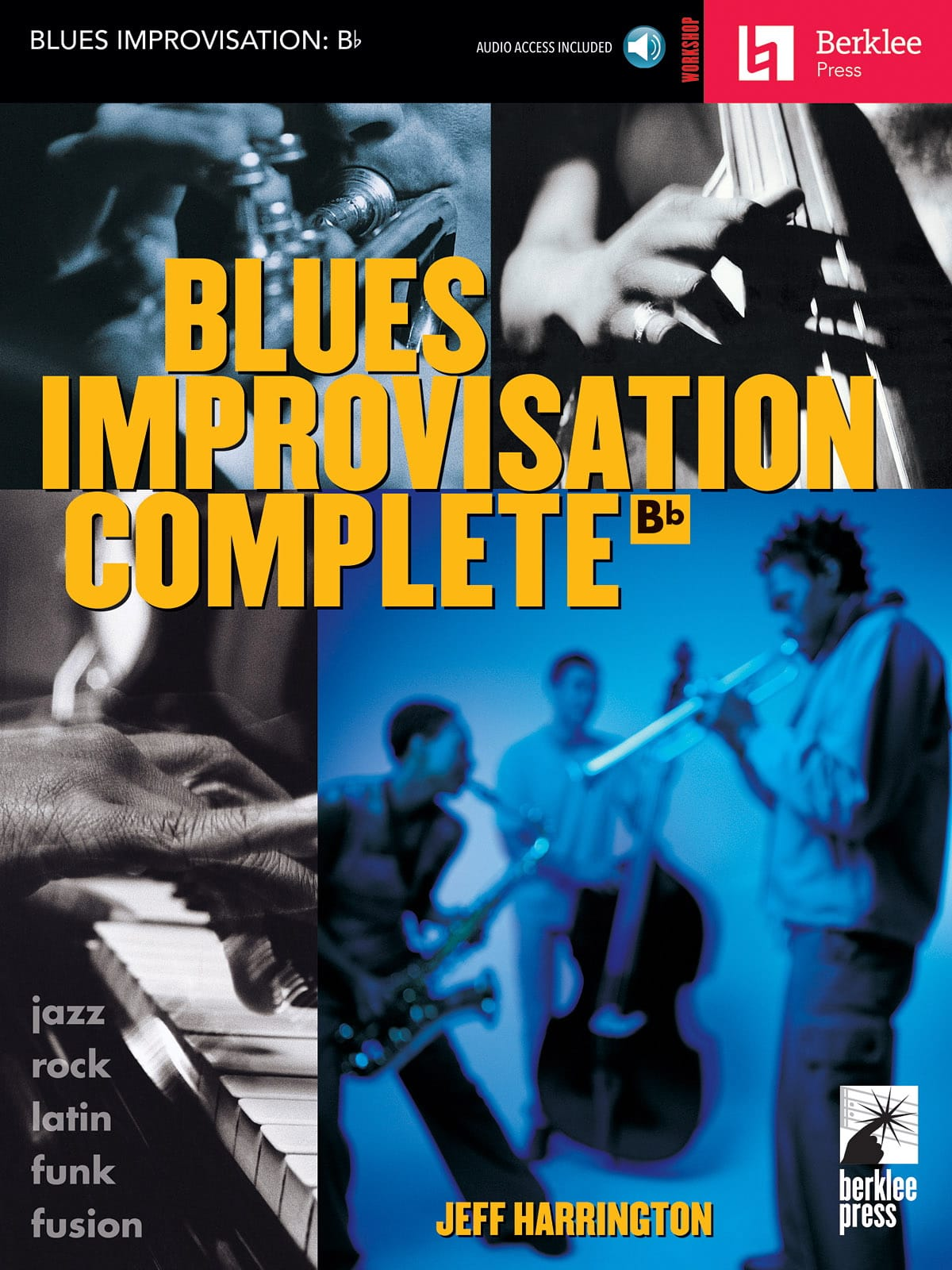 Blues Improvisation Complete Bb - Jeff Harrington - laflutedepan.com