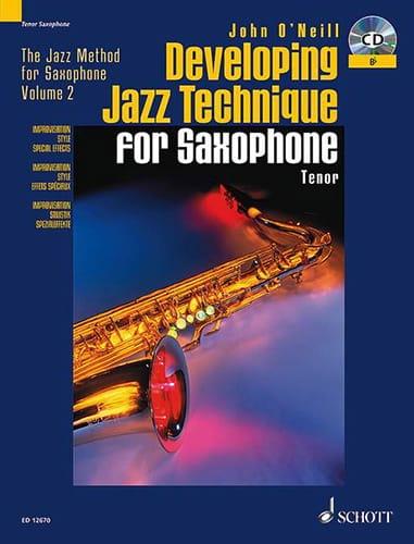Developing Jazz Technique For Bb Saxophone - laflutedepan.com